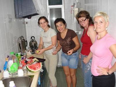 Las valencianas preparan la cena