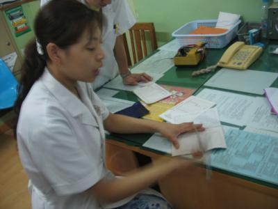 La doctora de acupuntura