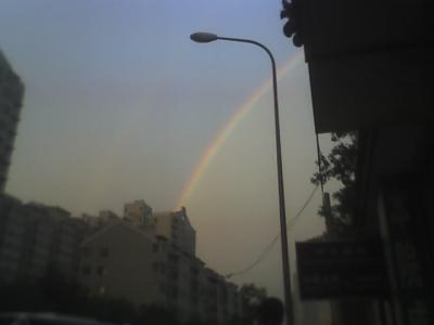 Arco iris en Beijing