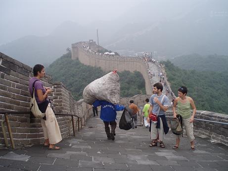 La Gran Muralla China, una de las Siete Maravillas del Mundo