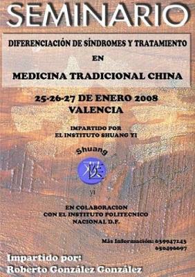 Seminario en Valencia del Dr.Roberto González de Méjico