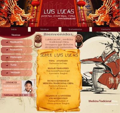 La nueva Web de MTC de Luis Lucas